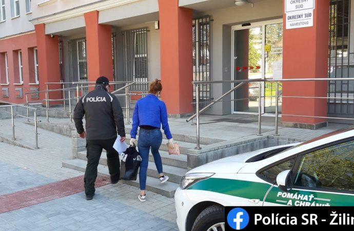 Policajti prichytili mladú ženu z Oravy pri opakovanej krádeži