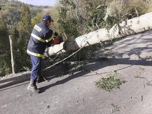 Hasiči z DHZ Kysucké Nové Mesto vykonávali monitoring