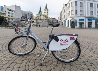 Zdieľané bicykle budú v uliciach Žiliny opäť od 1. mája