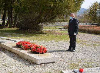 Primátor mesta Martin Ján Danko si uctil 75. výročie oslobodenia mesta