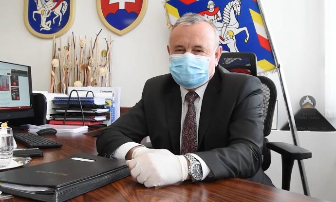 Primátor mesta Martin Ján Danko venuje svoj plat na boj proti pandémii koronavírusu