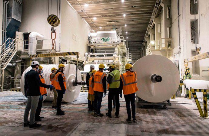 Ohrozenú výrobu v žilinských papierňach Metsa Tissue zachraňuje Vláda SR a Žilinský samosprávny kraj