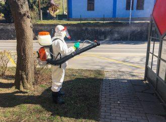Mesto Dolný Kubín pristúpilok dezinfekcii vybraných verejných priestorov