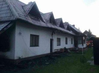 V Terchovej horel rodinný dom. Nikto sa nezranil