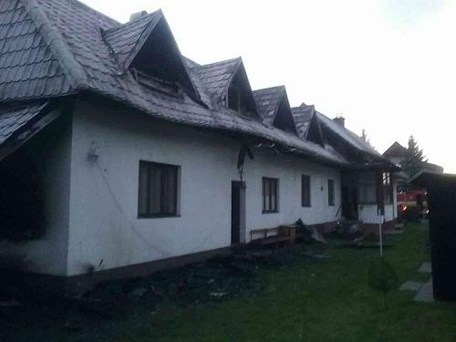 Rodina z horiaceho domu v Terchovej, prosí o finančnú pomoc