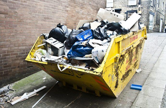 Vývoz komunálneho odpadu v Rajeckých Tepliciach