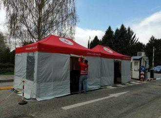 Nadácia Kia Motors Slovakia zakúpila záchranársky stan pre Červený kríž