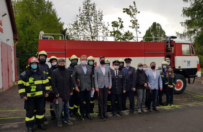 Pri hasičskej stanici v Liptovskej Ondrašovej vyrastie nová prístavba