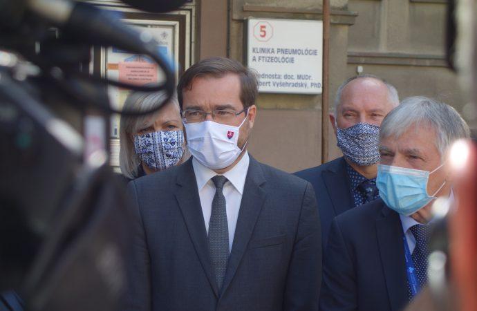 Minister zdravotníctva navštívil Univerzitnú nemocnicu v Martine