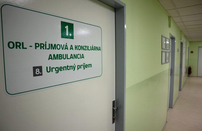 Krčná, nosová, ušná ambulancia vnových priestoroch