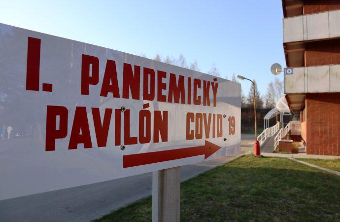 Pandemický pavilón zatvorili, vrátili sa doň urológovia