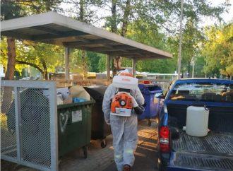 Žilina pokračuje v dezinfekcii kontajnerových stojísk