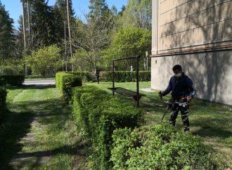 V Liptovskom Hrádku začali s prvou tohtoročnou kosbou verejnej zelene