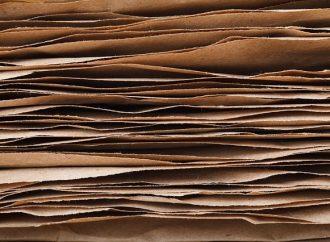 Výkup papiera v obci Kotešová