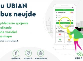 Aplikácia UBIAN vám uľahčí a spríjemní cestovanie