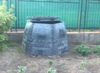 Kompostéry v Krásne nad Kysucu našli svoje domácnosti