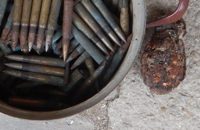V obci Mošovce bola nájdená munícia z druhej svetovej vojny