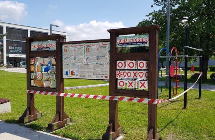 Na Námestí mieru v Liptovskom Mikuláši vzniklo náučné ihrisko