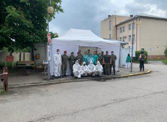 Vedenie UNV Ružomberok sa poďakovalo všetkým dobrovoľníkom a profesionálnym vojakom