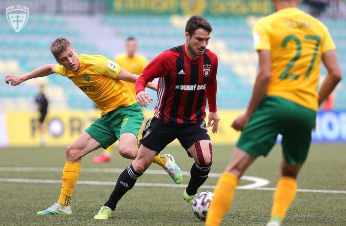 Patrik Iľko proti Trnave s dvomi asistenciami