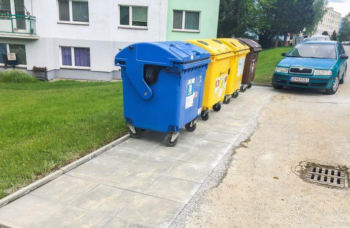 Mesto Dolný Kubín pokračuje v budovaní nových odstavných plôch na smetné koše