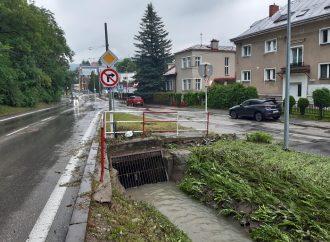 Situácia po prívalovom daždi je v meste stabilizovaná