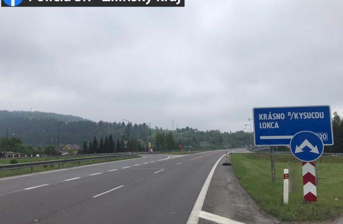 V Krásne nad Kysucou platí pre rekonštrukciu cesty dopravné obmedzenie
