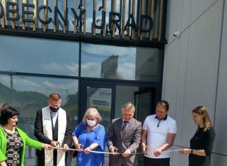 V Tepličke nad Váhom sa konal Deň otvorených dverí prístavby Obecného úradu a Pošty