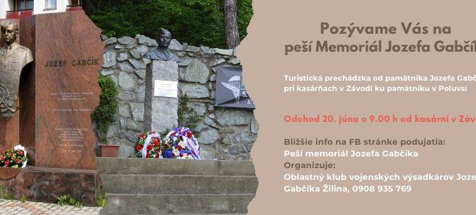 Rajec si uctí pamiatku Jozefa Gabčíka turistickou prechádzkou