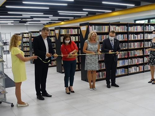 TV SEVERKA – Zmodernizovaná knižnica