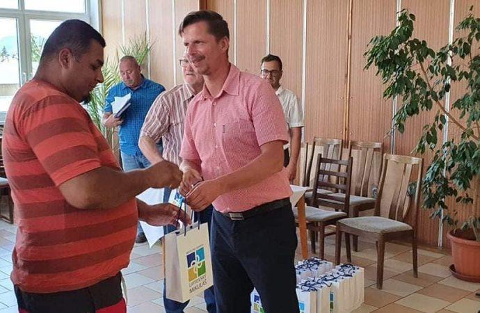 Viceprimátor mesta Liptovský Mikuláš Ľuboš Trizna ocenil zamestnancov Verejnoprospešných služieb