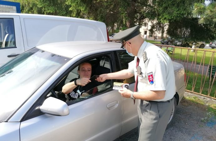 V Dolnom Kubíne zorganizovali preventívnu akciu – Nezabudni na mňa v aute
