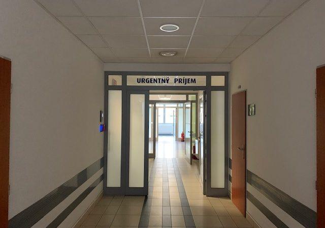 Nemocnica v Ružomberku spustila urgentný príjem druhého typu