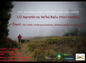 Zabehnite si 1/2 maratón na Veľkú Raču
