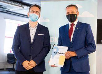 Žilina získala ocenenie Zlaté vedro za rok 2019