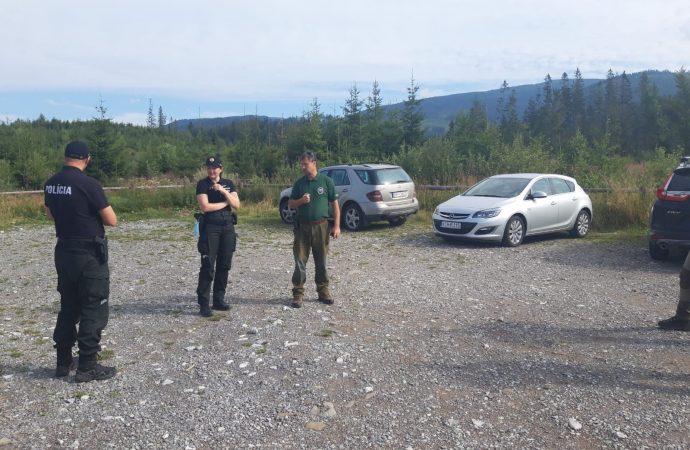 Policajti odhalili environmentálnu trestnú činnosť na Orave