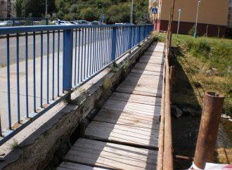 Mesto Liptovský Mikuláš realizuje zásadnú opravu mosta na ul. Kemi na Podbrezinách