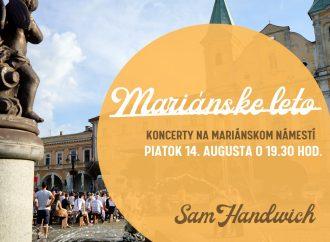 Pozývame vás na koncerty kapiel v rámci Mariánskeho leta