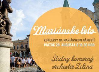 Sériu koncertov Mariánskeho leta uzavrie ŠKO Žilina