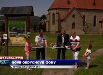 TV SEVERKA – Nové oddychové zóny