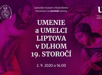 """Liptovské múzeum v Ružomberku pripravuje výstavu """"Umenie a umelci Liptova v dlhom 19. storočí"""""""