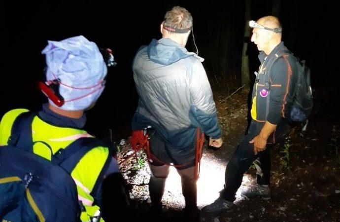 Horskí záchranári pomáhali dvojici turistov, ktorí zablúdili nad Ružomberkom