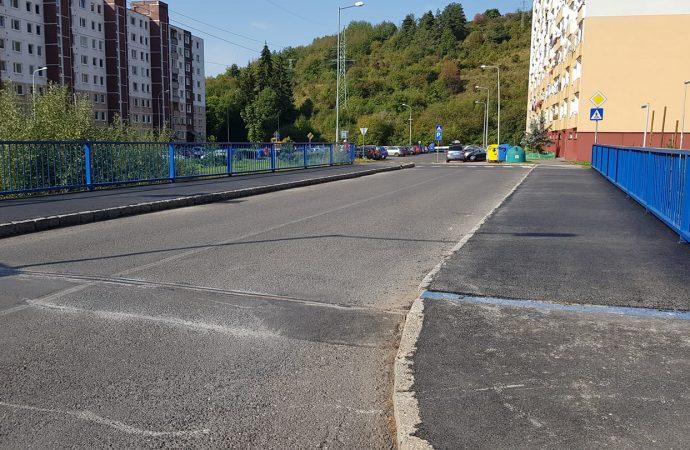 Verejnoprospešné služby mesta Liptovský Mikuláš dokončili opravu mosta na Dubovej na Podbrezinách
