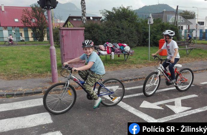Preventistika v Ružomberku sa zameriava na výučbu dopravnej výchovy pre žiakov základných škôl