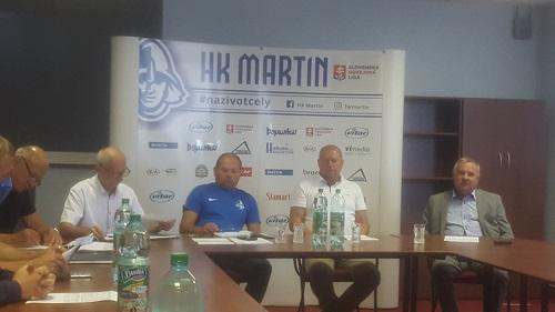 Murček z HK Martin: Možno to bude posledná sezóna hokejového klubu