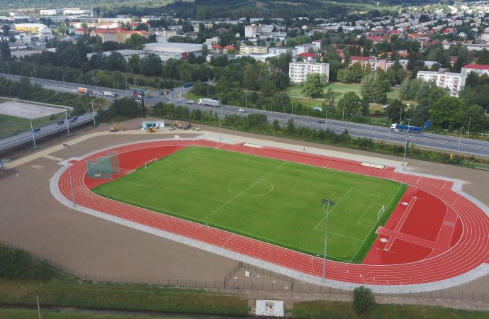 TV SEVERKA – Nový atletický štadión