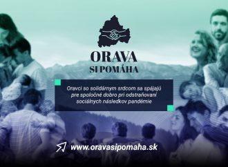 Oravský región bojuje s dôsledkami koronakrízy vytvorením projektu Orava si pomáha