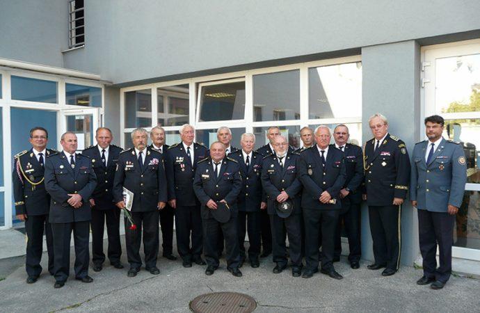 Jozef Kormanec bol oceneným čestným titulom Dobrovoľnej požiarnej ochrany SR