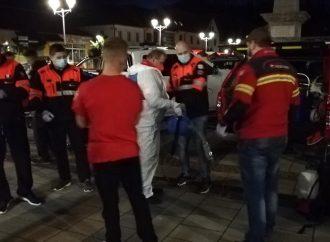 Oravský záchranný systém pravidelne dezinfikuje verejné priestranstvá v Trstenej