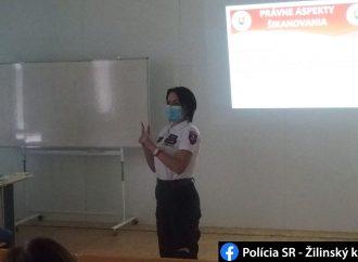 Polícia sa v rámci prevencie kriminality venuje aj téme šikanovania